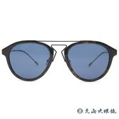 Dior 太陽眼鏡 BLACK TIE 226FS TCJKU (琥珀-鐵灰) 雙槓 墨鏡 久必大眼鏡