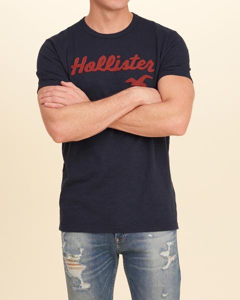 HCO Hollister Co. 男 當季最新現貨 短袖T恤 Hco M343