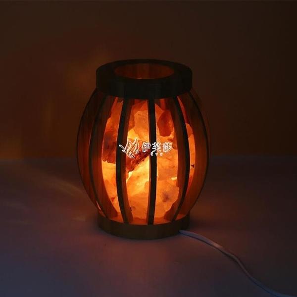 交換禮物喜馬拉雅助眠燈網紅小夜燈創意裝飾臺燈床頭燈臥室氛圍燈禮物