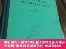二手書博民逛書店techniques罕見for electron microscopy電子顯微鏡術Y107628 Desmon