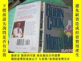 二手書博民逛書店ROBIN罕見COOK MORTAL FEAR致命恐懼 書名如圖 37-4Y20079 ROBIN COOK