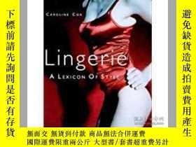 二手書博民逛書店Lingerie:罕見A Lexicon of Style wo