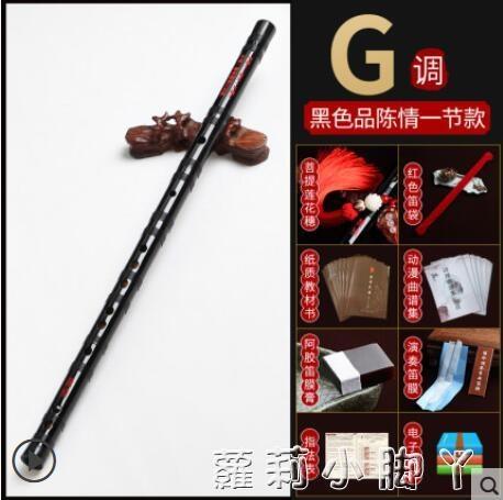 笛子竹笛專業精制高級初學橫笛樂器女生自學陳情令男專業演奏笛子 蘿莉新品