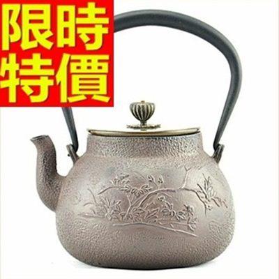 日本鐵壺-南部鐵器鑄鐵新溪鳥茶壺 64aj31[時尚巴黎]