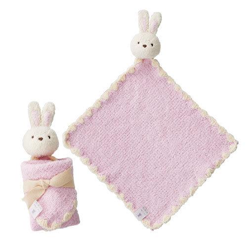 奇哥 超柔舒可愛玩偶安撫巾-小兔