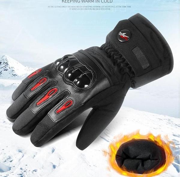 摩托車手套 冬季 保暖防水防風騎士手套男機車騎行手套防摔可觸屏 暖心 暖心