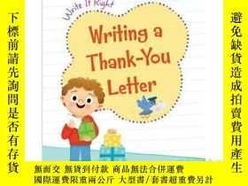 二手書博民逛書店Writing罕見a Thank-You LetterY3464