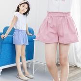 女童短褲外穿百搭2020夏季新款薄牛仔熱褲純棉沙灘裙兒童三分褲子 漾美眉韓衣