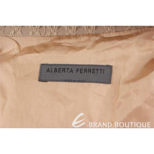 ALBERTA FERRETTI 卡其色西裝外套 0510626-28