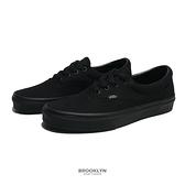 VANS 休閒鞋 基本款 ERA 全黑 男女 (布魯克林) VN000QFKBKA
