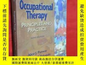 二手書博民逛書店Occupational罕見Therapy: Principle