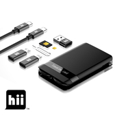 Hii 旅遊隨行卡 Travelink card Qi無線充電 內建讀卡機 手機架功能 6種不同充電線