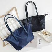 (全館一件免運費)DE Shop~(M-970)防水包女單肩包牛津布尼龍女包通勤手提包托特包大包包