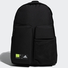 ADIDAS CLASSICS 3D POCKETS 背包 後背包 休閒 水壺側袋 拉鍊前袋 黑【運動世界】GN9875