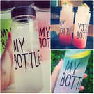 My bottle 創意隨行杯 隨手瓶 附袋子 購滿10件以上,每件$99
