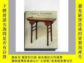 二手書博民逛書店chinese罕見furniture victoria and