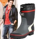 雨鞋男時尚膠鞋春夏男士雨靴水鞋男套鞋釣魚鞋中筒防水防滑水靴 小山好物