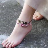 天然雕花粉貝鈴鐺有聲音瑪瑙青銅色手腳?女清新復古簡約森系學生   夢曼森居家