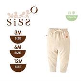 【SISSO有機棉】小兔彩棉好穿褲 3M 6M 12M
