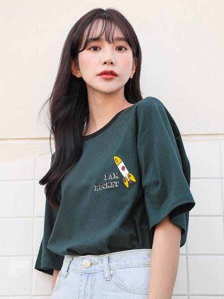 衣普菈 短袖T恤棉質上衣2019夏季流行女裝