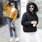 冬季加厚上衣 休閒夾克外套加絨 修身保暖棉服女生外套 短款棉襖女士外套 羽絨外套韓版外套