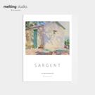 裝飾畫 藝術 掛畫 【G0134】John Singer Sargent藝術裝飾畫-光與影(A3) 韓國製 完美主義