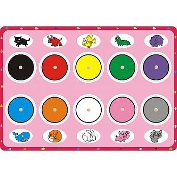 益智學習手抓板—顏色點點名 上羊 (購潮8)