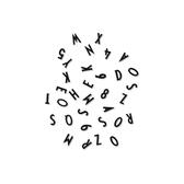 DL 黑色字母 (S)