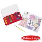【美國瑪莉莎Melissa & Doug】豪華水彩粉餅顏料 21 色 #MD4120