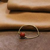 天然石手環轉運珠手鐲復古極簡時尚手串
