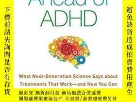 二手書博民逛書店Getting罕見Ahead of ADHD: What Nex