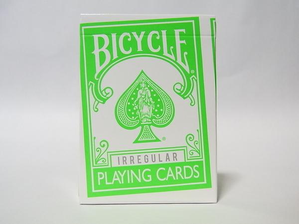 【USPCC 撲克】BICYCLE不規則綠背irregular撲克