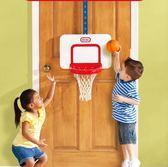 兒童籃球架 美國小泰克掛式籃球架兒童室內投籃家用掛壁式 可升降jy【快速出貨中秋節八折】