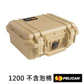 美國 PELICAN 派力肯 塘鵝 1200 NF 1200NF 防水氣密箱 空箱 沙漠黃 公司貨