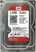 WD紅標 3.5吋 1TB SATA3 NAS 專用硬碟(WD10EFRX)
