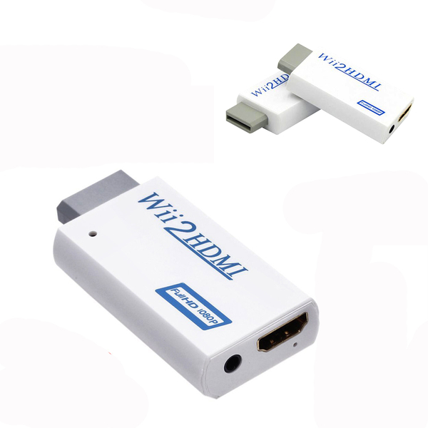 Wii 轉 HDMI 轉接器 480p 基礎款 - Wii 電視連接 連接線 轉換器