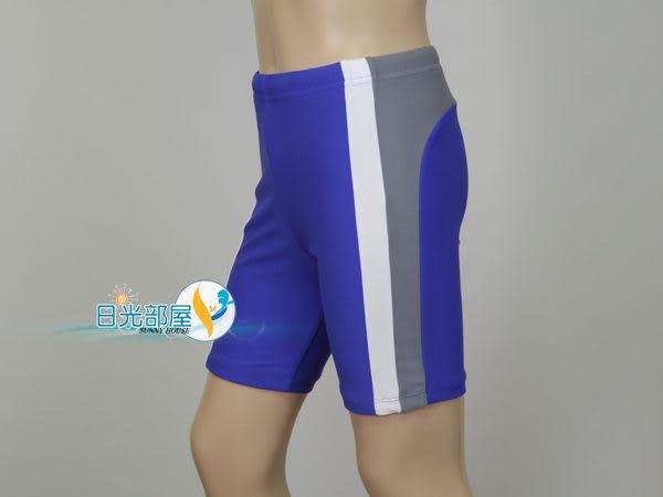 *日光部屋* 奧可那 (公司貨)/AQ12502 男童七分/馬褲型泳褲(台灣製造/M~XXL/特價)