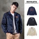 美式街頭防風教練外套  【SE-17233】 (ROVOLETA)