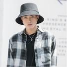 大帽檐漁夫帽男士潮牌嘻哈夏季大頭圍帽子夏款防曬帽太陽帽遮陽帽一米陽光