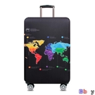 【貝貝】行李箱保護套 加厚 行李箱保護套 彈力 旅行箱套 耐磨 防塵罩 26-28寸