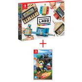 Switch-健身環大冒險-中文版+Labo Toy-Con 01: 組合套裝中文版【愛買】