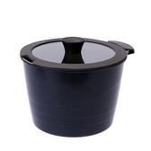 HOLA 可拆式陶瓷不沾導磁湯鍋3件組-藍