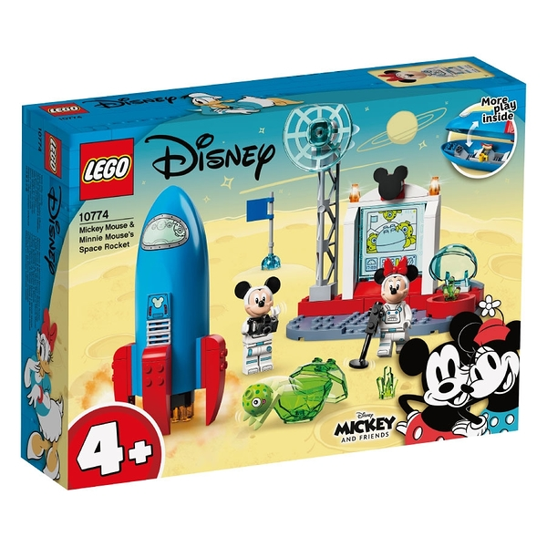 LEGO 10774 Mickey Mouse & Minnie Mouse's Space Rocket 玩具反斗城