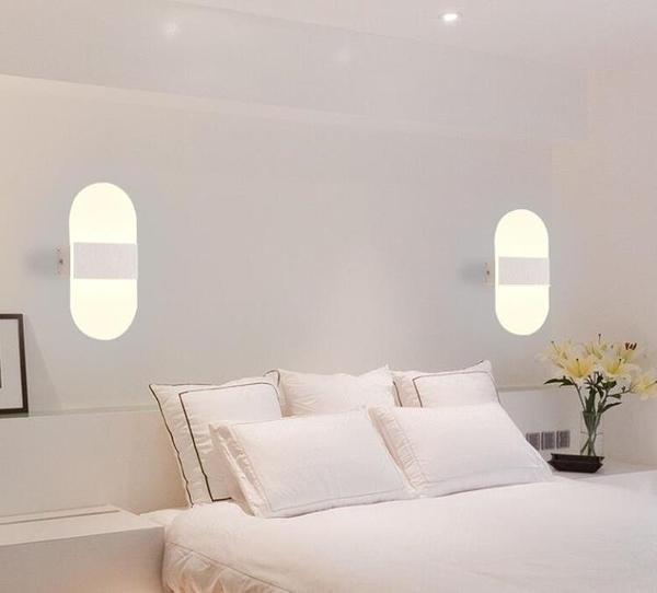 壁燈客廳背景LED臥室走廊過道背景牆樓梯間燈簡約YYJ 易家樂