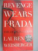 【書寶二手書T4/原文小說_IAB】Revenge Wears Prada_Lauren Weisberger