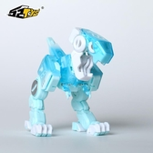 【52TOYS】猛獸匣系列冰薄荷小恐龍變形可動玩具擺件拼裝模型