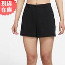 【現貨】NIKE AS W NY CORE OFF MAT 女裝 短褲 慢跑 棉質 柔軟 黑【運動世界】DA1032-010
