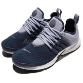 Nike 休閒慢跑鞋 Wmns Air Presto 藍 灰 低筒 魚骨鞋 運動鞋 女鞋【PUMP306】 878068-010