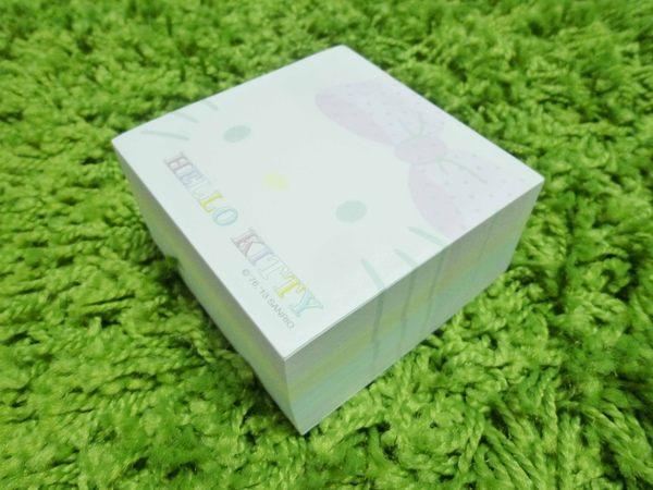 【震撼精品百貨】Hello Kitty 凱蒂貓~造型便條紙~粉春天【共1款】