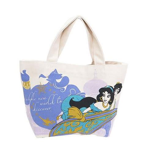 《Small Planet》迪士尼手繪系列帆布迷你提袋(阿拉丁)★funbox生活用品★_DP24256